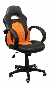 Fotel sportowy Nitro Speed Orange