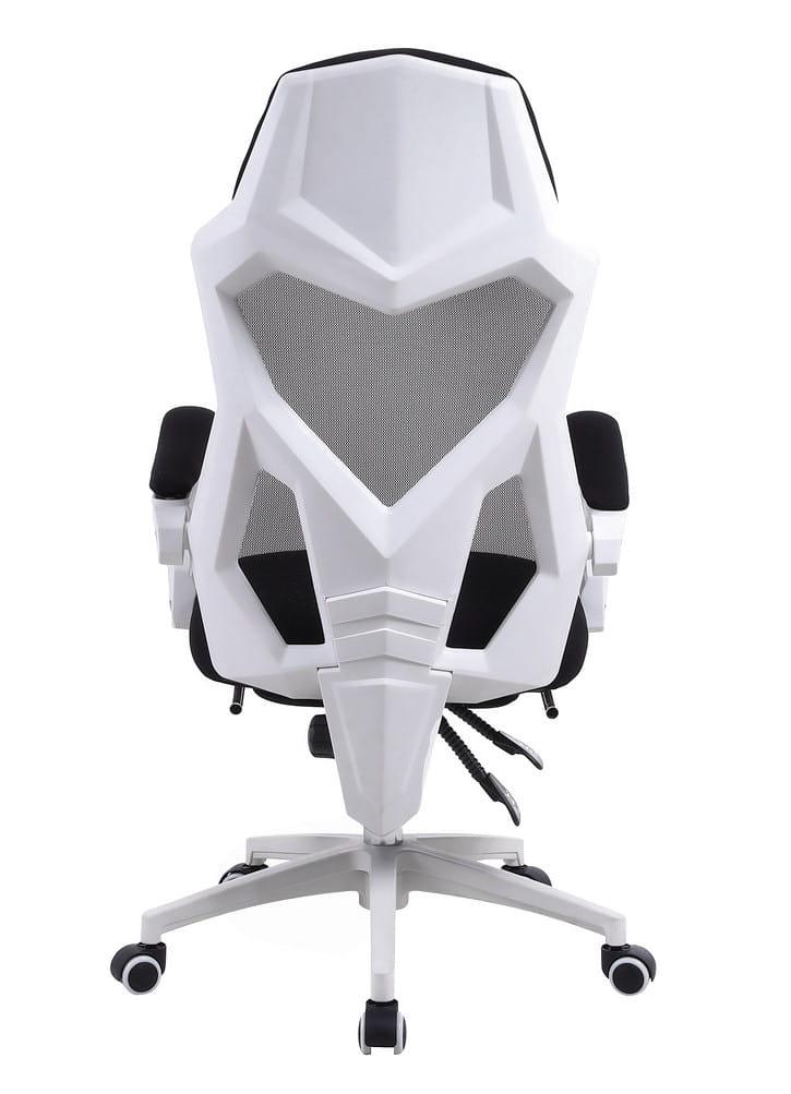 Fotel Gamingowy Yoda White Z Podnozkiem Obrotowy Dla Graczy Nowoczesne Meble Eu